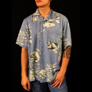 Vintage Pacific Fishes Shirt
